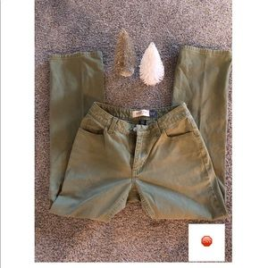 Jeans Olive Green